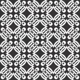 Дизайны повторения вектора черные белые бесплатная иллюстрация