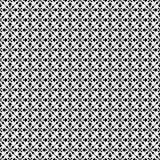 Дизайны повторения вектора черные белые Стоковые Изображения