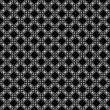 Дизайны повторения вектора черные белые Стоковая Фотография