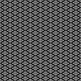 Дизайны повторения вектора черные белые Стоковые Фото