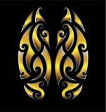 Дизайны татуировки племенные маорийские Стоковые Фотографии RF