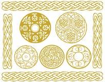 Дизайны Celtic иллюстрация штока