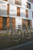 Дизайн автостоянки велосипеда Стоковое Фото
