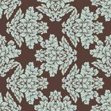 Дизайн безшовной картины штофа затейливый Стоковая Фотография RF