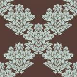 Дизайн безшовной картины штофа затейливый Стоковая Фотография