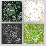 Дизайн брошюры биологии Стоковые Изображения