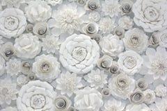 Дизайн бумажного цветка Стоковое фото RF
