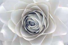 Дизайн бумажного цветка Стоковое Изображение