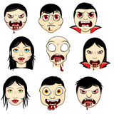 Дизайн вампира Стоковое Фото