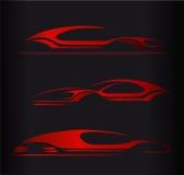 Дизайн вектора логотипа автомобильной компании стоковое изображение