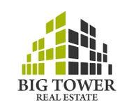 Дизайн вектора логотипа недвижимости, здания, конструкции и архитектуры Стоковые Фотографии RF