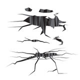 Дизайн вектора отверстия с серым цветом Стоковые Фотографии RF