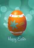 Дизайн вектора пасхального яйца Иллюстрация штока