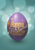 Дизайн вектора пасхального яйца Иллюстрация вектора