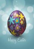 Дизайн вектора пасхального яйца Стоковое Фото
