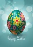 Дизайн вектора пасхального яйца Стоковые Фото