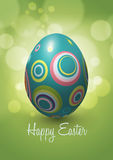 Дизайн вектора пасхального яйца Стоковая Фотография RF