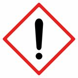 Дизайн вектора предупредительного знака Стоковая Фотография RF