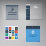 Дизайн вектора плоский. предпосылка и цвет Стоковое Фото