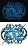 Дизайн вектора татуировки племенной Стоковые Изображения RF