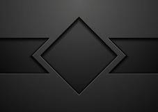 Дизайн вектора черной концепции техника корпоративный бесплатная иллюстрация