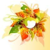 Дизайн вектора Eps10 multicolor Стоковые Фото