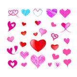 Дизайн векторной графики сердца Стоковая Фотография RF
