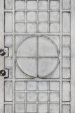 Дизайн двери металла Стоковое Фото