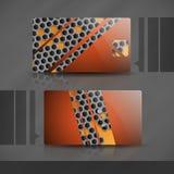 Дизайн визитной карточки. Стоковая Фотография