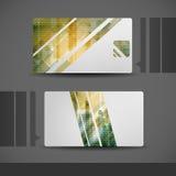 Дизайн визитной карточки Стоковые Фото
