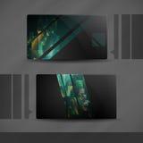 Дизайн визитной карточки. Стоковое фото RF