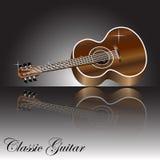 Дизайн гитары Стоковые Фото