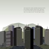 Дизайн города. Стоковые Фотографии RF