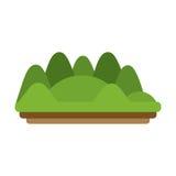 Дизайн горы Стоковое Фото