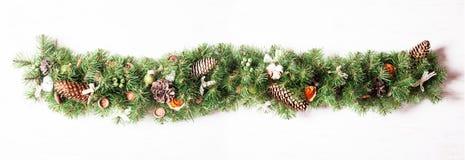 Дизайн границы рождества Стоковое Изображение RF