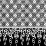 Дизайн 005 границы Стоковые Изображения