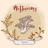 Дизайн гриба Стоковые Фотографии RF