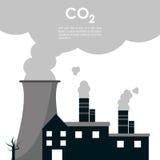 Дизайн глобального потепления иллюстрация штока