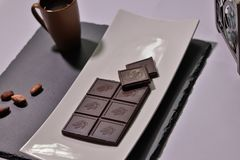 Дизайн диска шоколада Стоковые Фото