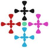 Дизайн для печати в одежде Стоковое Фото