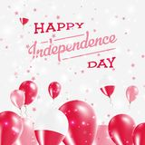 Дизайн Дня независимости Польши патриотический Стоковые Фотографии RF