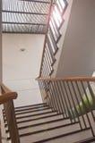 Дизайн лестниц Стоковое Изображение