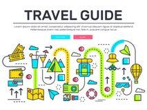 Дизайн деталей значков перемещения infographic Остатки каникул с любым комплектом элементов Путешествие, отключение, иллюстрации  бесплатная иллюстрация