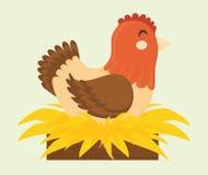 Дизайн животноводческих ферм бесплатная иллюстрация
