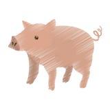 Дизайн животноводческих ферм иллюстрация штока
