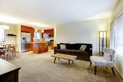 Дизайн живущей комнаты. стоковые фотографии rf