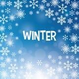 Дизайн зимы background card congratulation invitation Плоская иллюстрация Стоковое Фото