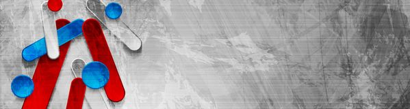 Дизайн знамени абстрактного техника grunge геометрический стоковая фотография rf