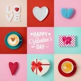 Дизайн знамени дня валентинок Стоковая Фотография