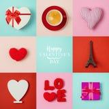 Дизайн знамени дня валентинок Стоковое Изображение